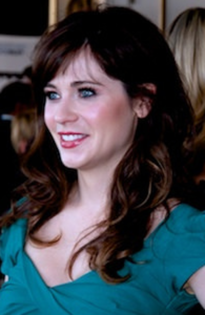 Zooey Deschanel, American actress, musician, and singer-songwriter