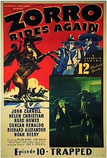 <i>Zorro Rides Again</i> 1937 film by John English, William Witney