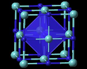 Zirconium nitride - Image: Zr N polyhedral