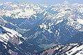 Zugspitze, Blick auf Lermoos und Ehrwald.JPG