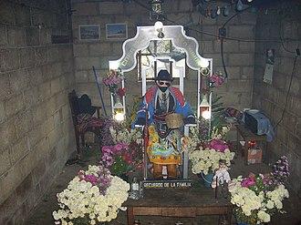 Maximón - San Simón in Zunil, 2007