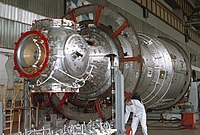 Zvezda Service Module under construction.jpg