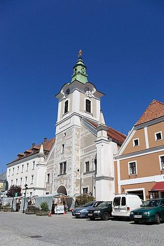 Zwettl - Image: Zwettl rathaus viennaphoto at