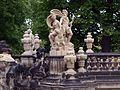 Zwinger Dresden, Nymphenbad, Figurengruppe Neptun und Amphitrite - panoramio.jpg