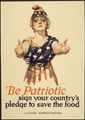 """Be Patriotic sign your country's pledge to save the food."", ca. 1917 - ca. 1919 - NARA - 512497.tif"