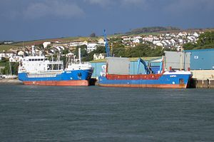 """Imina"" and ""Aspens"" at Teignmouth Harbour.jpg"