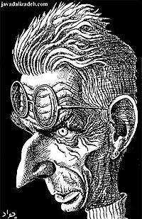 """""""Samuel Beckett"""" by Javad Alizadeh"""