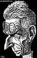 """""""Samuel Beckett"""" by Javad Alizadeh.jpg"""
