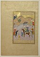 """Sultan Sanjar and the Old Woman"", Folio 17 from a Khamsa (Quintet) of Nizami MET sf13-228-7-2.jpg"