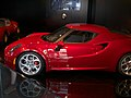 """ 13 - red italian exotic supercar - Alfa Romeo 4C.jpg"