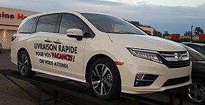 Honda Odyssey (North America) - Image: '18 Honda Odyssey