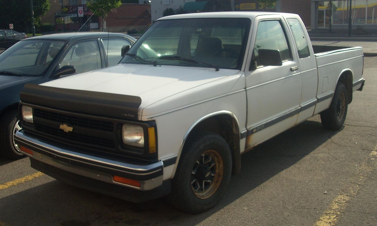 All Chevy 96 chevy extended cab : File:'92 Chevrolet S-10 Extended Cab.JPG - Wikimedia Commons