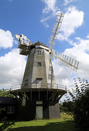 Jonathan Creek - King's Mill, Shipley, West Sussex, used as Creek's initial windmill home in the series