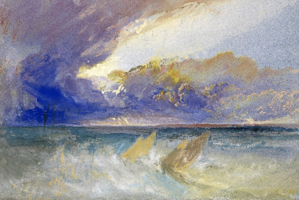 'Sea View' by J. M. W. Turner, Scottish National Gallery