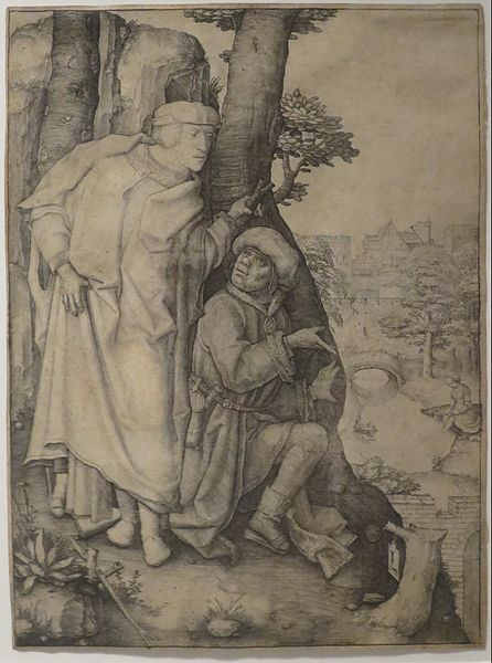 File Susanna And The Elders Etching By Lucas Van Leyden