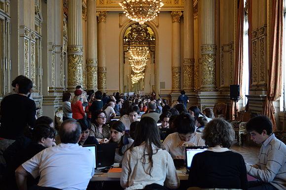 (Teatro Colón) Editatón - Salón Dorado (2).JPG