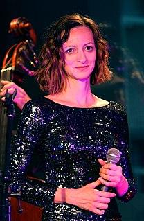 Ági Szalóki Hungarian singer