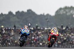 Álex Rins and Jorge Lorenzo 2019 Le Mans.jpeg