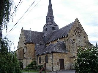 Amagne - Image: Église Saint Martin d'Amagne