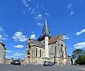 Église Saint-Sauveur de Beaumont-en-Auge. Vue sud-ouest.jpg