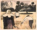 Émile Bernard Le moissonneur (The Harvester) print 1889.jpg