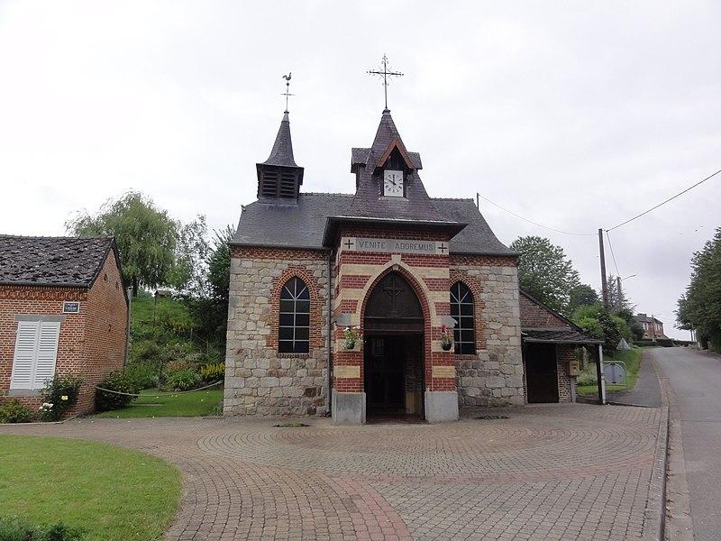 Éparcy (Aisne) église Saint-Martin