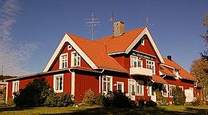 Övertorneå - Image: Övertorneå järnvägsstation