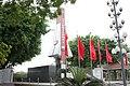 Đài tưởng niệm các anh hùng liệt sỹ huyện Lương Tài, tỉnh Bắc Ninh, nhìn từ góc bên trái.jpg