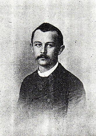 Jovan Cvijić - Cvijić as a young man