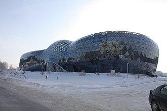 Koltsovo, Novosibirsk Oblast - Image: Биотехнопарк, Кольцово 01