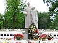 Братська могила радянських воїнів. Поховано 82 воїни, вул. Рибалка, Харків.jpg