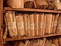 Внутренний вид костёла до переезда архива - документы на хранении в костёле.JPG