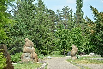 Giaginsky District - Goncharka Dendrological Park, a protected area of Russia in Giaginsky District