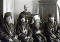 Епископ Ювеналий (Килин), епископ Елевферий, протоиерей Григорий Разумовский, митрополит Мелетий и архиепископ Нестор.jpg