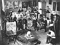 ИАХ. Живописная мастерская профессора В. Е. Маковского (1913).jpg