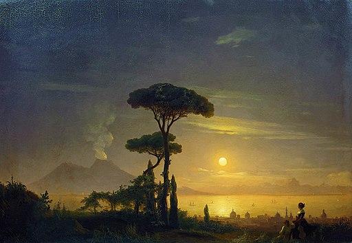Иван К. Айвазовский - Неаполитанский залив (1845)