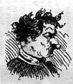 """Н. П. Чехов, карикатура """"Свадебный сезон"""" (Шафер невесты), 1881г.jpg"""