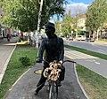 Памятник Габдулле Тукаю на велосипеде.jpg