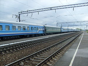 Zhizdrinsky District - Train station, Zhizdrinsky District