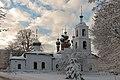 Церковь Вознесения, в городе зима.jpg