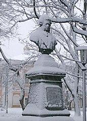 Buste de Pouchkine à Tchernigov