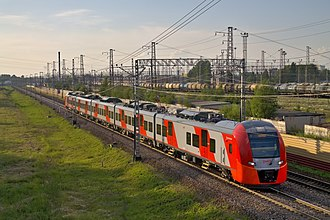 Russian Railways - Lastochka — a new Russian high-speed train.