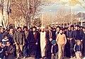 آیت الله ساکی در کنار شهید فخرالدین رحیمی در مبارزات علیه رژیم ستم شاهی.jpg