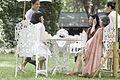 ภริยานายกรัฐมนตรีร่วมรับประทานอาหารว่างกับคณะภริยาผู้น - Flickr - Abhisit Vejjajiva (2).jpg