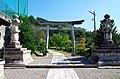 今宮郊戸八幡宮の鳥居 飯田市にて 2014.9.09 - panoramio.jpg