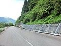 妙巌隧道 道路 崩壊したフェンス - panoramio.jpg