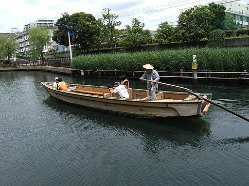 横十間川の和船 - panoramio (1)