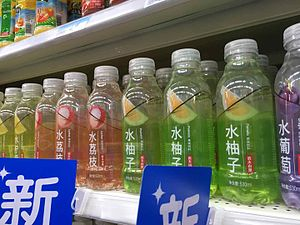 Nongfu Spring - Fruit flavored soft drinks