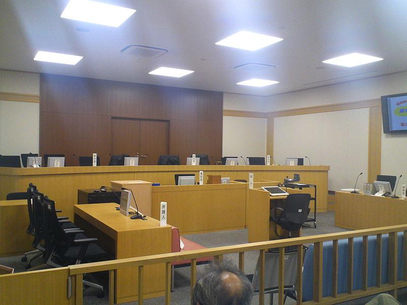 ファイル:裁判所法廷の様子.jpg