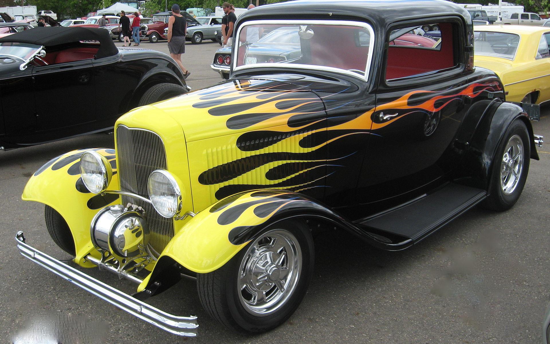 Car Flames: Custom Car